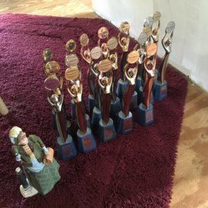 Leader trophies